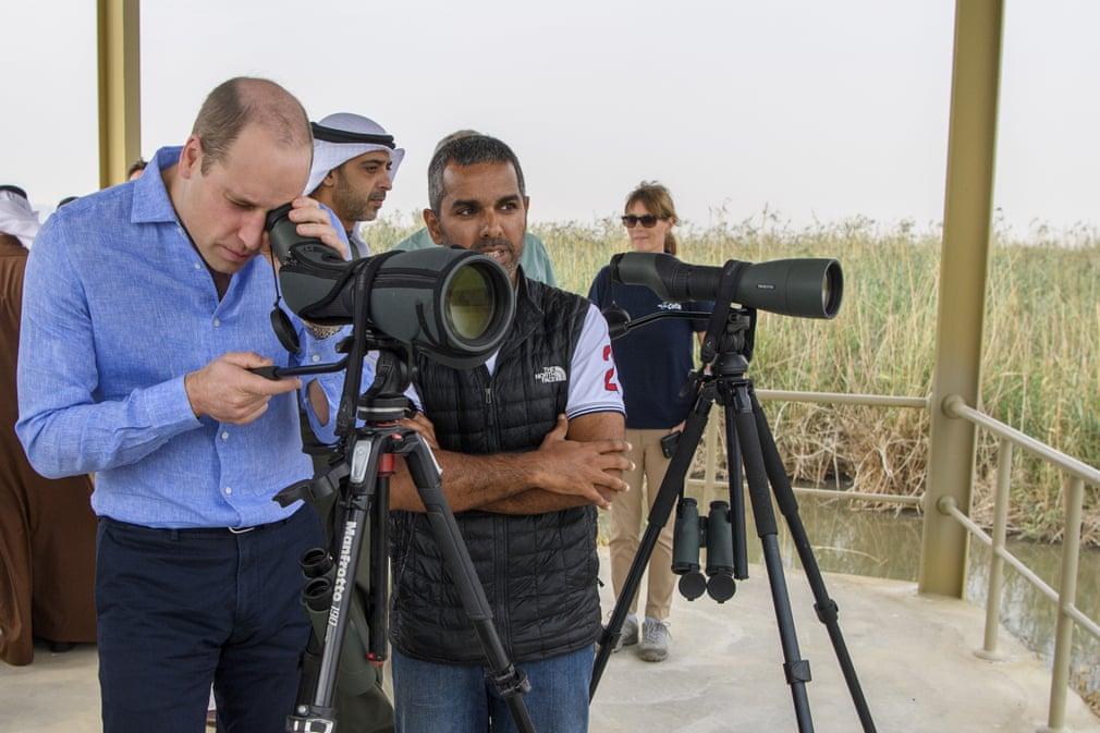 Prince William in Kuwait