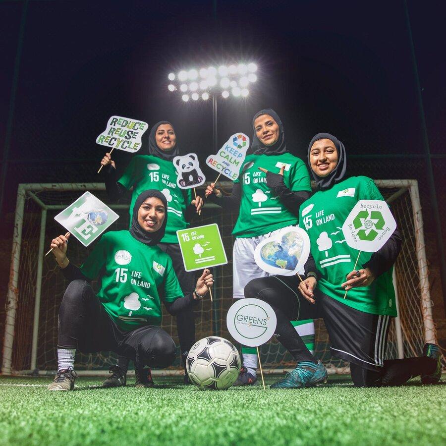 تیم فوتبال بانوان عربستان