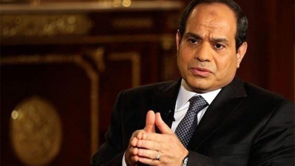عبدالفتاح السیسی رئیسجمهور مصر